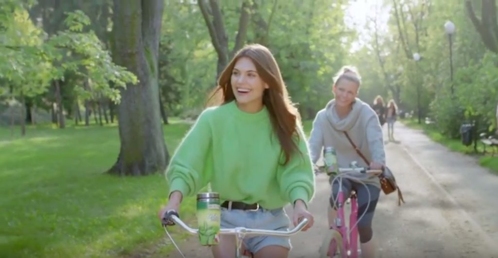 Asia & Ksia for Big Active TV Commercial