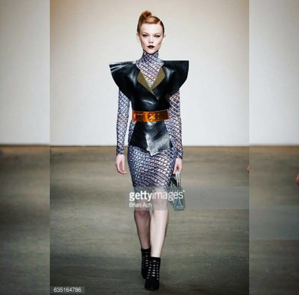 Agnes for ACID NYC Clothing / New York Fashion Week