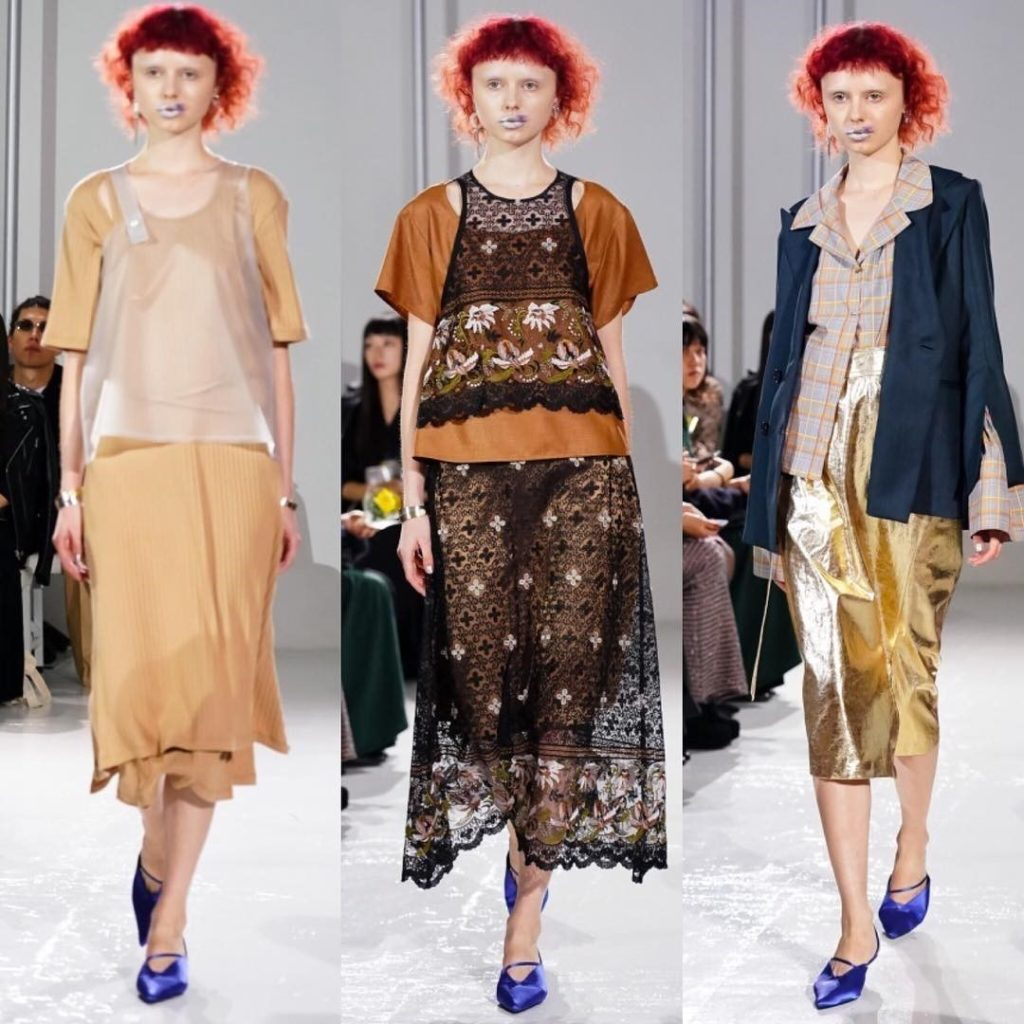Ada for Murral SS 2019 fashion show / Tokyo Fashion Week