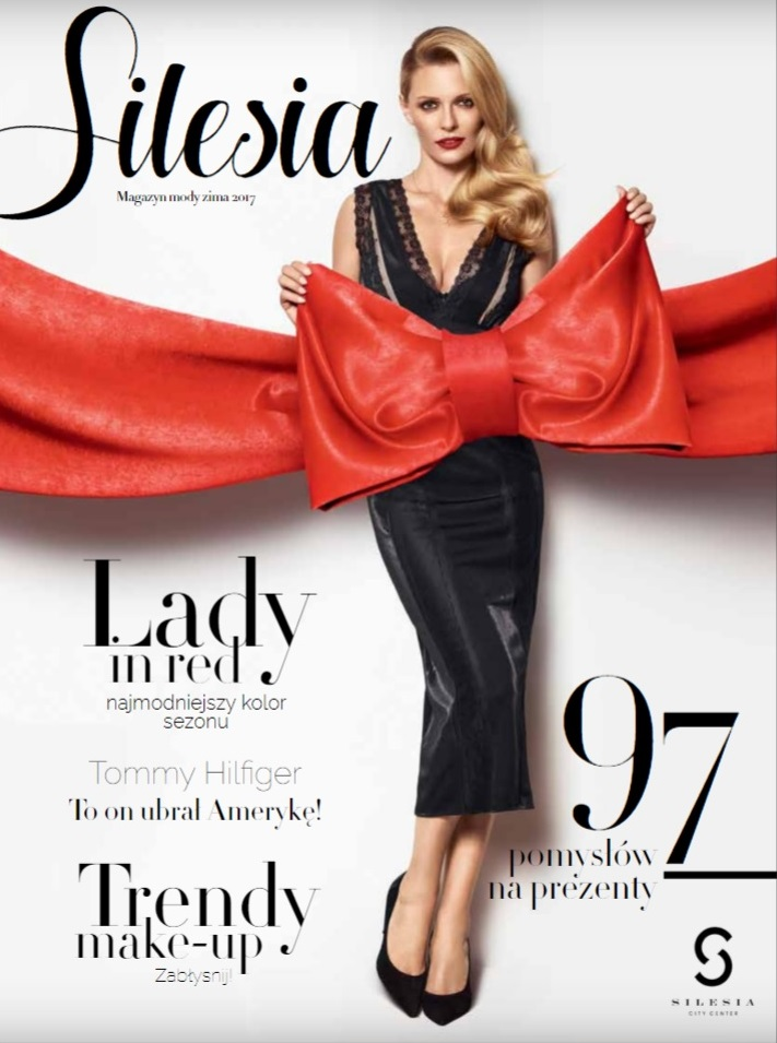 Kasia on the cover of Silesia City Center