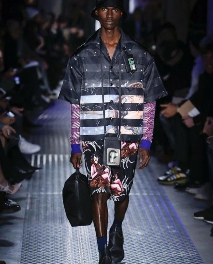 Jayson for Prada Fashion Show / Milano Fashion Week 2018/19