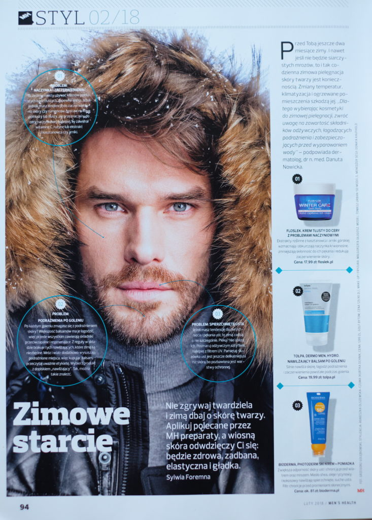Tomasz for Men's Health Magazine