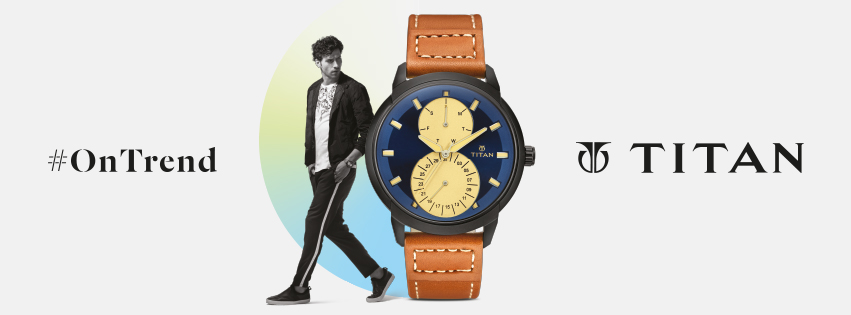 Vicente for Titan watches Campaign / India