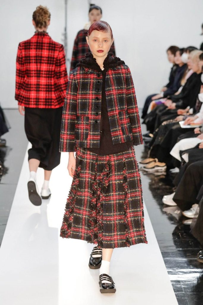 Ada for Tricot Comme des Garcons Fall Winter 2019 / Amazon Fashion Week Tokyo