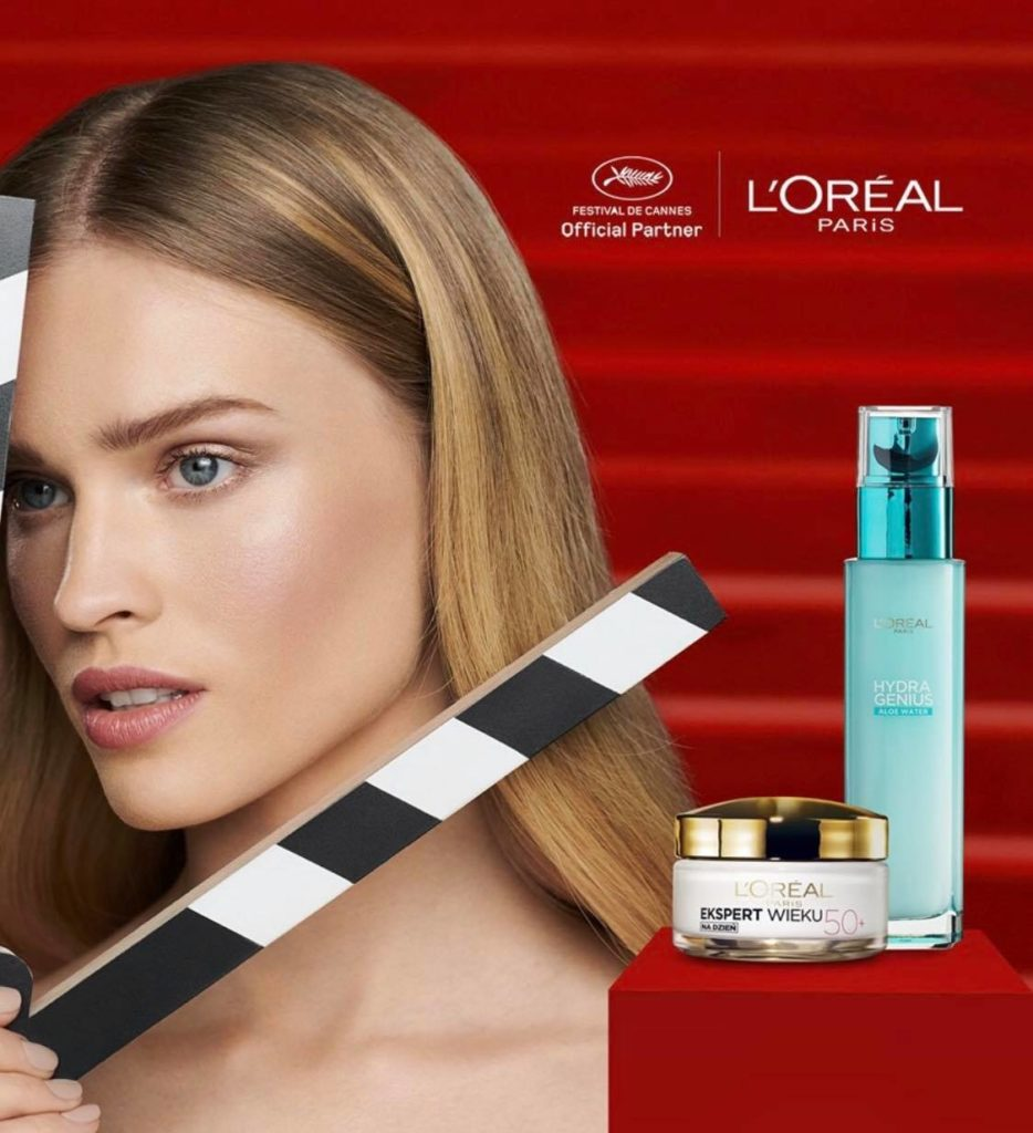 Natalia for L'Oreal Paris